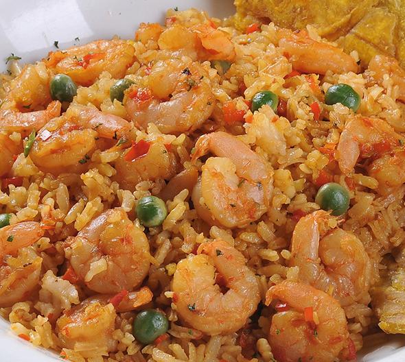 Receta arroz con camarones recetas de cocina for Como cocinar 5 kilos de arroz