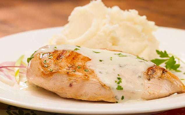 Receta pechugas de pollo con salsa alfredo recetas de cocina - Pechuga d pollo en salsa ...